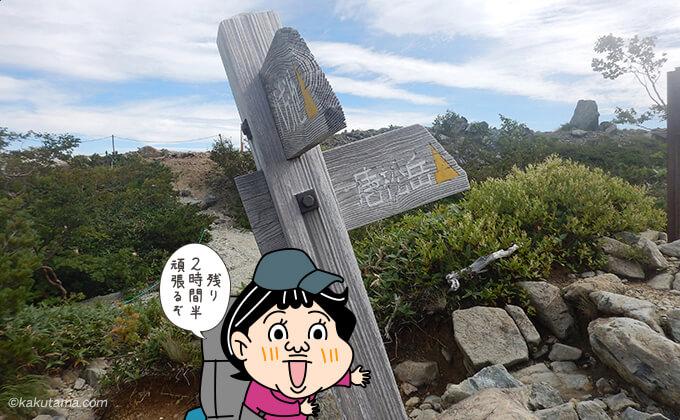 唐松岳登山道入口