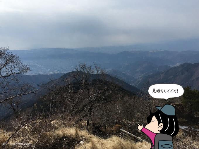 花立山荘まで来れば見晴らしも良い