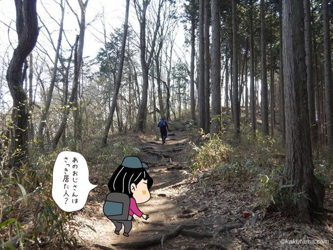奥高尾縦走路を歩く