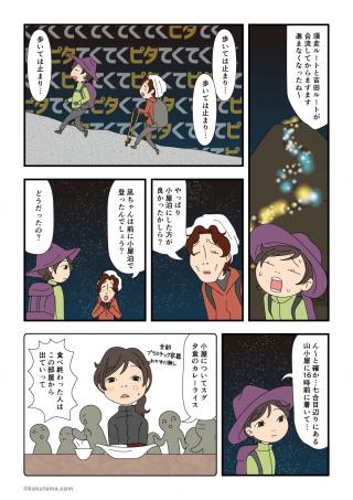 富士登山(27)小屋泊の思い出