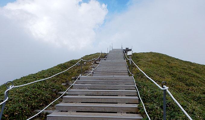 剣山レポ_山頂の空