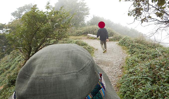剣山レポ_下山を急ぐ