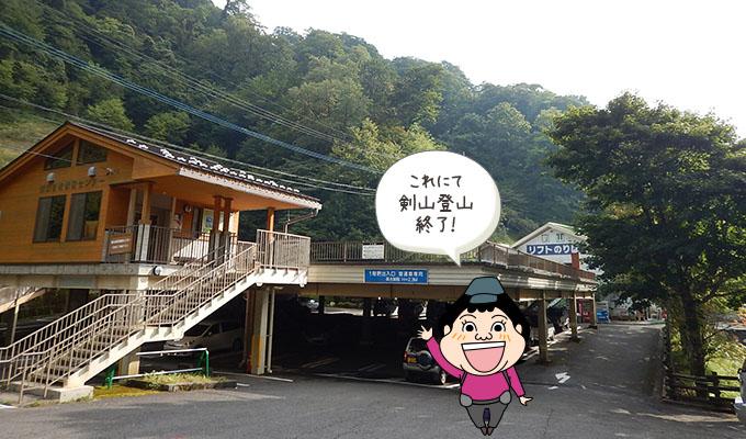 剣山レポ_下山