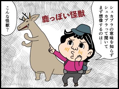 シュカブラに関わる4コマ漫画1