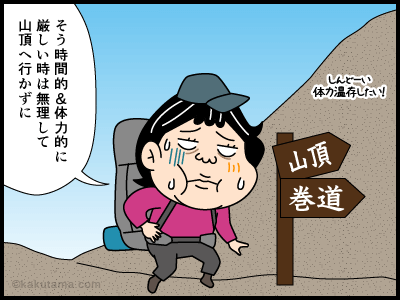 巻道に関する4コマ漫画1