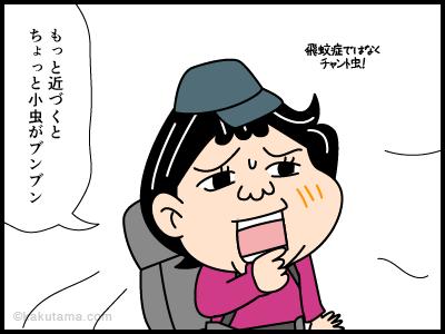 万年雪にまつわる4コマ漫画3
