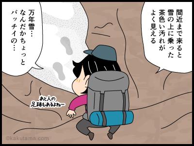 万年雪にまつわる4コマ漫画4