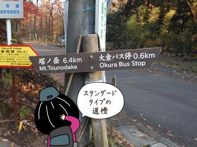 道標に関する4コマ漫画1