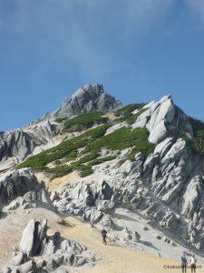 美しい燕岳