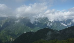 燕山荘周辺天気が回復