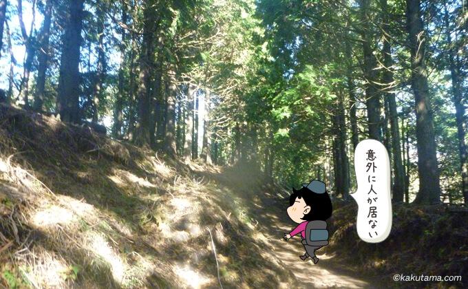 大倉尾根を楽しく登る2
