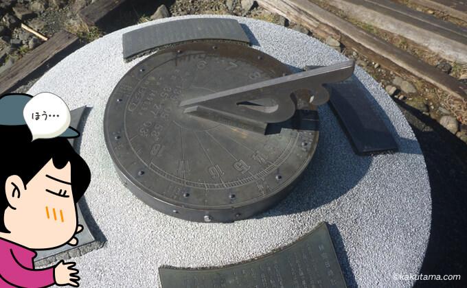 塔ノ岳山頂の看板