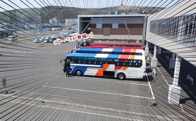 稚内のバスターミナル