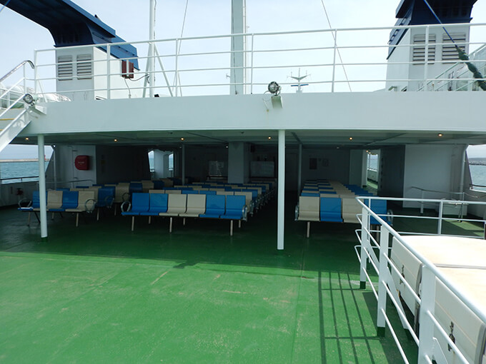サイブリア宗谷甲板