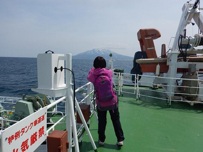 利尻島を撮る私