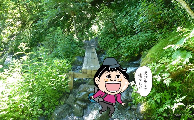 また橋を渡る