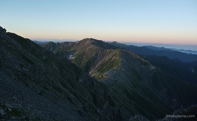 北岳山頂までもうちょっと