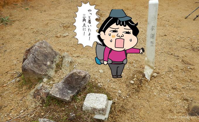 太郎坂の三角点