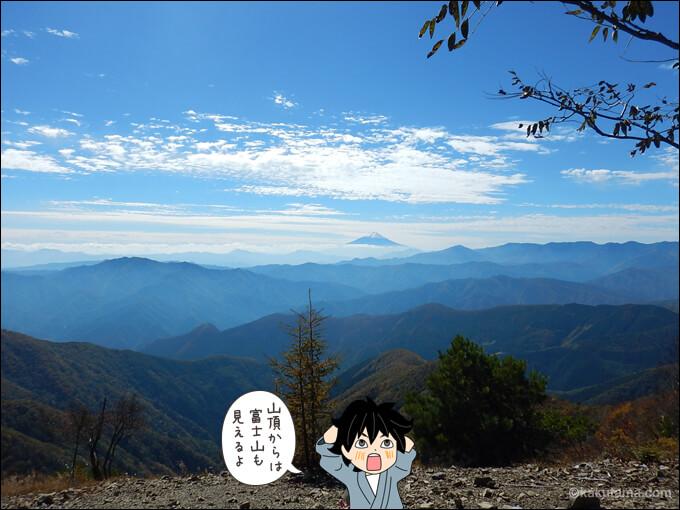 鷹ノ巣山山頂