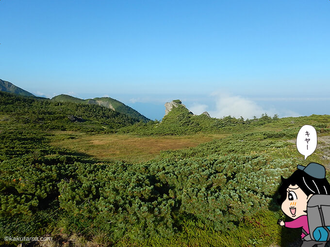 長栂山から見る風景