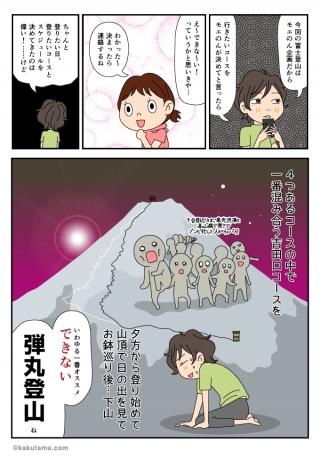 富士登山編(06)富士登山計画決定