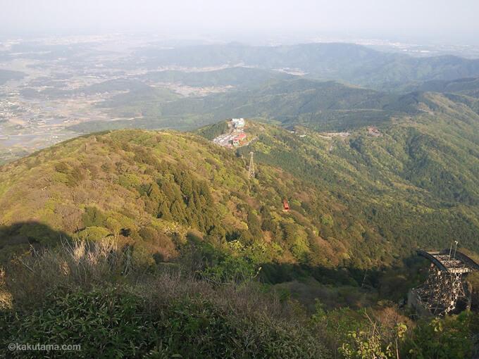 筑波山の風景