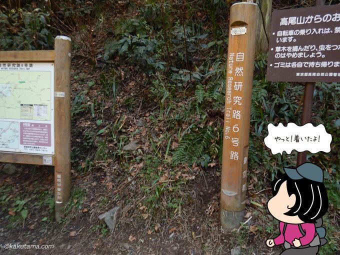 6合目ルート登山口
