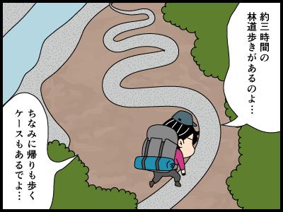 上高地に関する4コマ漫画4