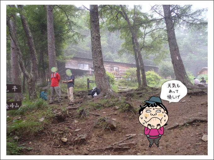 過去の富士見平小屋