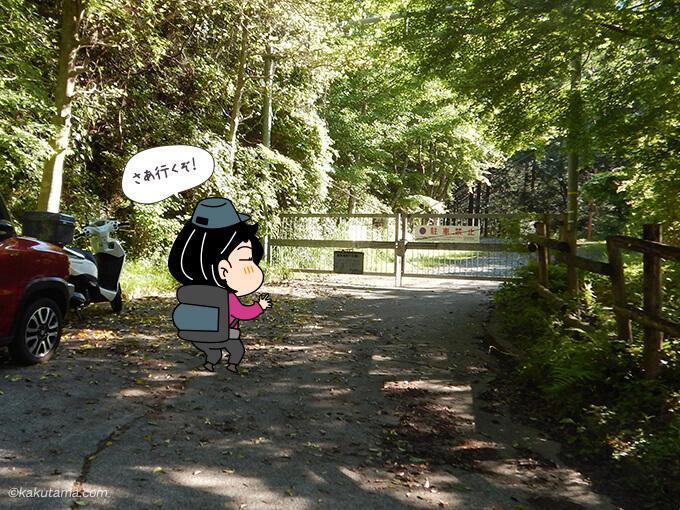 表丹沢県民の森からスタート