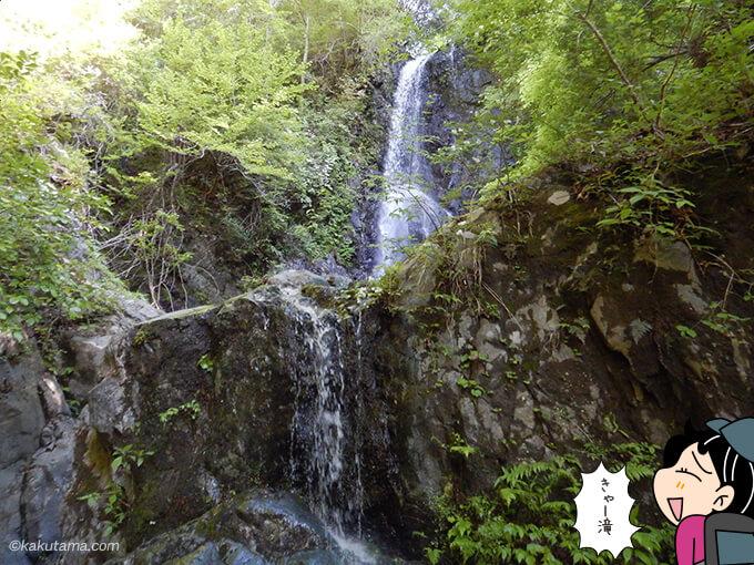 ミズヒ沢の滝