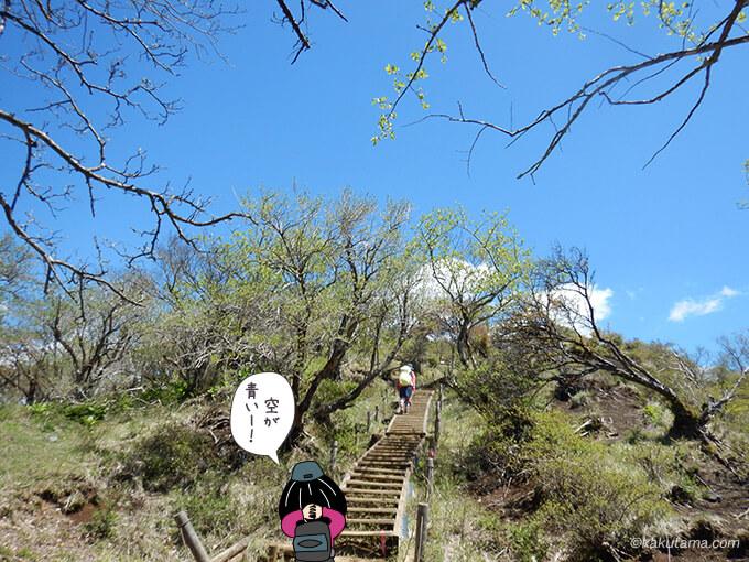 塔ノ岳山頂まで後もうチョット2