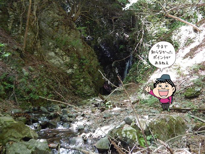 二俣への分岐にある滝2