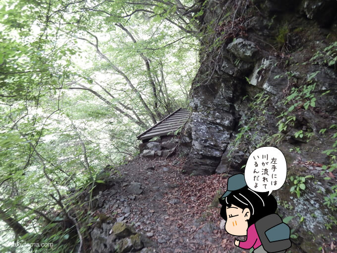 樹林帯と橋2