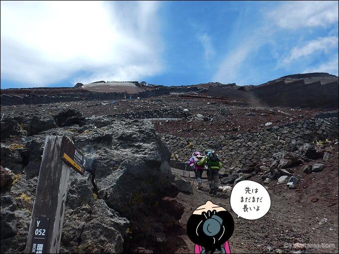 富士山八合目の思い出2