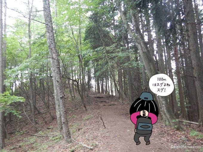 本仁田山まであともうチョット1