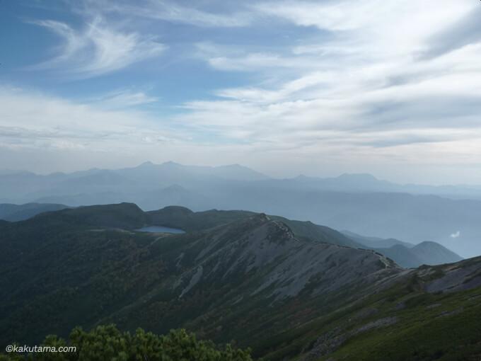 小蓮華山からの眺め