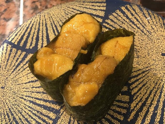 北海道回転寿司花まるの回転寿司