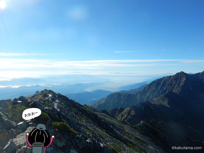 五竜岳からの眺め2