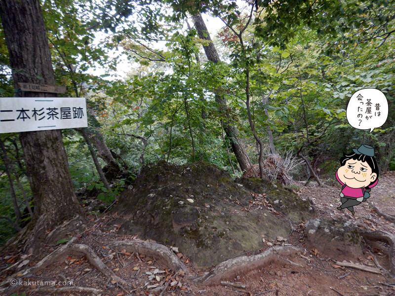 二本杉茶屋跡