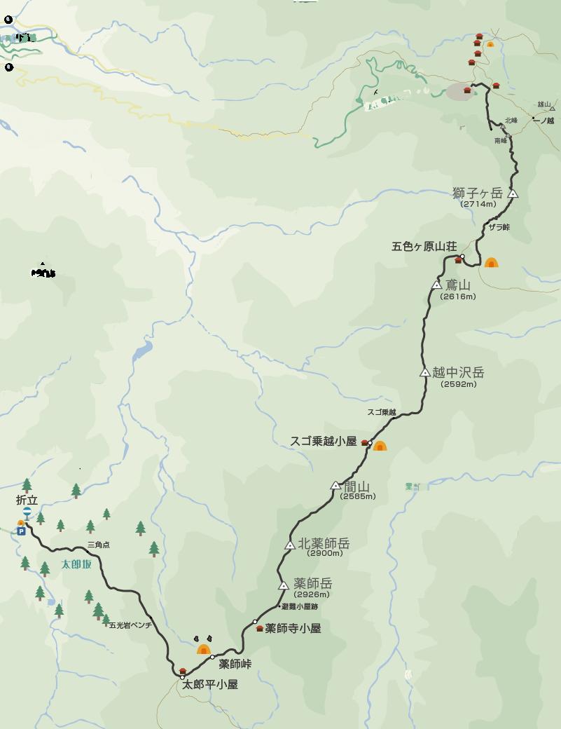 全体行程イラストマップ