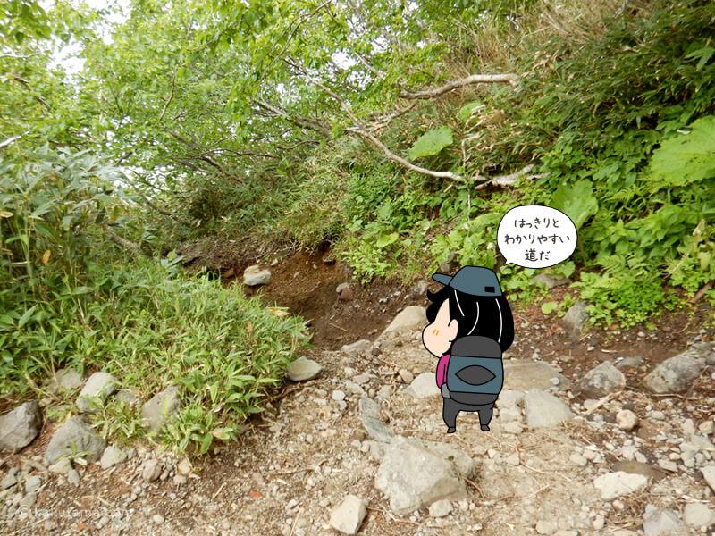 羊蹄山倶知安コース七合目を通過