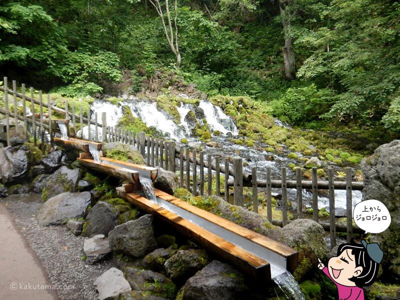 京極の水の吹出口2