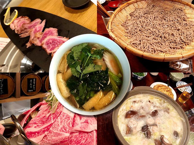 正月に食べた豪華食事