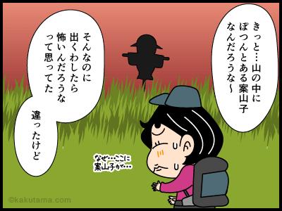 ヤマガカシに関する4コマ漫画2