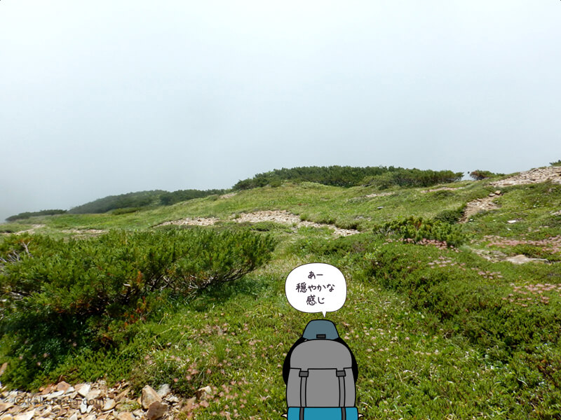 間山からの風景