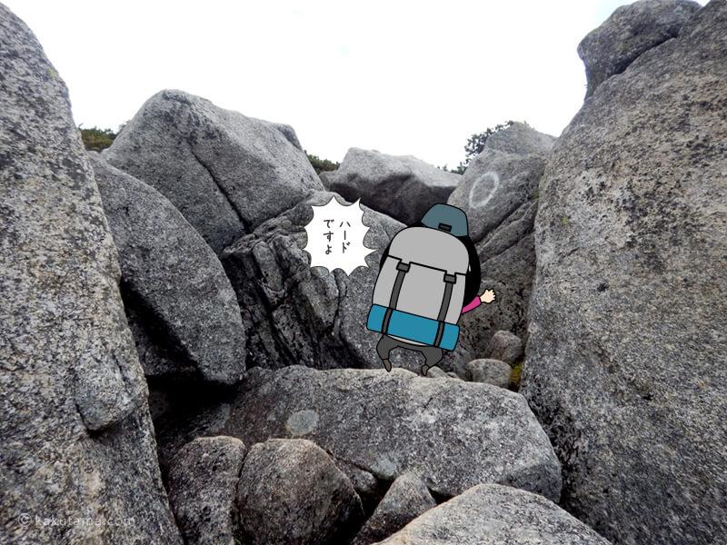 どんどんでかくなる岩場2