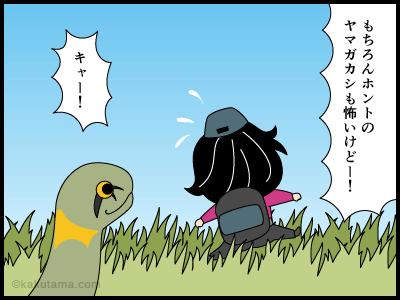 ヤマガカシに関する4コマ漫画4
