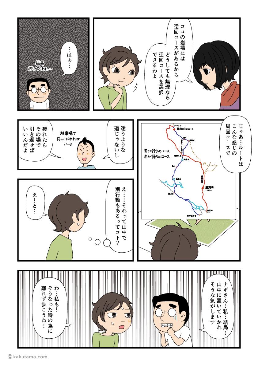 登山計画を立てる(3)登る山とコースを決める漫画3