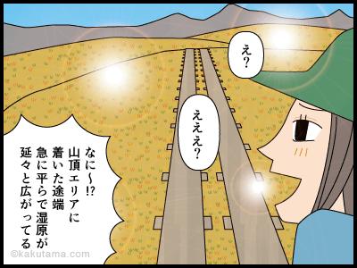 苗場山にまつわる4コマ漫画3